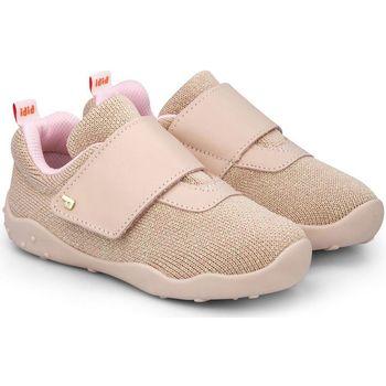 Pantofi Fete Pantofi sport Casual Bibi Shoes Pantofi Fete Bibi FisioFlex 4.0 Camelia Textil Roz