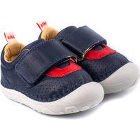 Pantofi Băieți Botoșei bebelusi Bibi Shoes Pantofi Baieti Bibi Grow II Naval Bleumarin