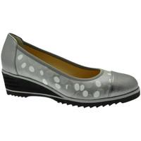 Pantofi Femei Balerin și Balerini cu curea Donna Soft DOSODS0766gr grigio