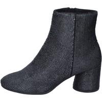 Pantofi Femei Botine Elvio Zanon Botine BM13 Negru