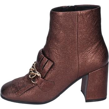 Pantofi Femei Botine Elvio Zanon Botine BM15 Maro