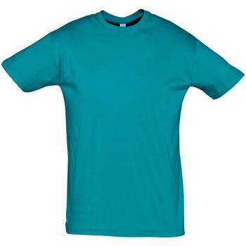 Îmbracaminte Bărbați Tricouri mânecă scurtă Sols REGENT COLORS MEN Azul