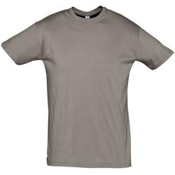 Îmbracaminte Bărbați Tricouri mânecă scurtă Sols REGENT COLORS MEN Gris