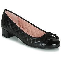 Pantofi Femei Balerin și Balerini cu curea Pretty Ballerinas SHADE Negru