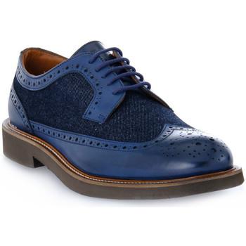 Pantofi Bărbați Pantofi Derby Frau SIENA JEANS BLU Blu