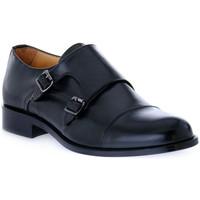 Pantofi Bărbați Mocasini Exton VITELLO NERO Nero