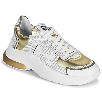 Pantofi Femei Pantofi sport Casual John Galliano 3646 Alb / Auriu