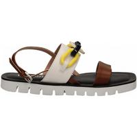 Pantofi Femei Sandale  Pollini Silver POLLINI ALESS20 bianco-cuoio