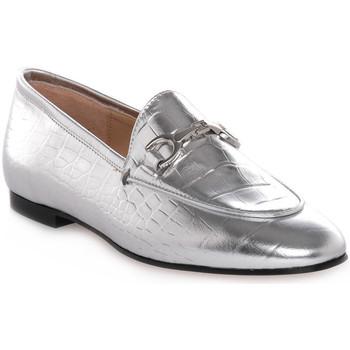 Pantofi Femei Mocasini Priv Lab LAMINATO ARGENTO Grigio