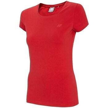 Îmbracaminte Femei Tricouri mânecă scurtă 4F TSD001 Roșii