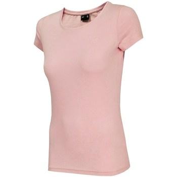 Îmbracaminte Femei Tricouri mânecă scurtă 4F TSD001 Roz