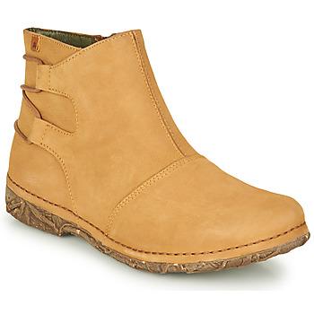 Pantofi Femei Ghete El Naturalista ANGKOR Camel