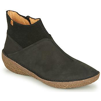 Pantofi Femei Ghete El Naturalista BORAGO Negru