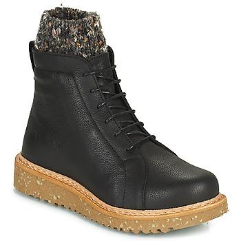 Pantofi Femei Ghete El Naturalista PIZARRA Negru