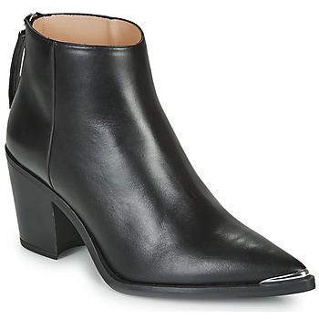 Pantofi Femei Botine Unisa MIRTE Negru