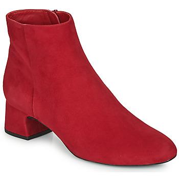 Pantofi Femei Botine Unisa LOLI Roșu