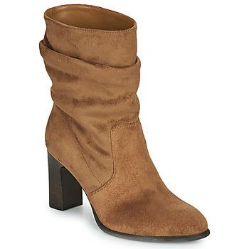 Pantofi Femei Botine Unisa ULANO Bej