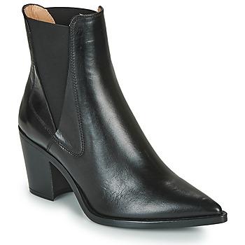 Pantofi Femei Botine Unisa MUNIS Negru
