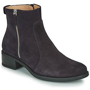 Pantofi Femei Ghete Unisa EBRAS Bleumarin
