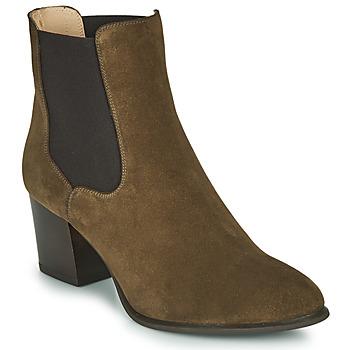 Pantofi Femei Botine Unisa MAZE Kaki