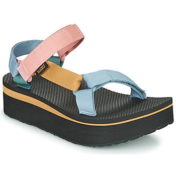 Pantofi Femei Sandale  Teva FLATFORM UNIVERSAL Multicolor