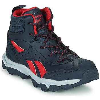 Pantofi Băieți Pantofi sport Casual Reebok Sport RUGGED RUNNER MID Negru / Roșu