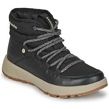 Pantofi Femei Cizme de zapadă Columbia SLOPESIDE VILLAGE OMNI HEAT MID Negru