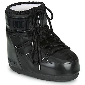Pantofi Femei Cizme de zapadă Moon Boot MOON BOOT CLASSIC LOW GLANCE Negru