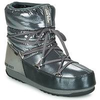 Pantofi Femei Cizme de zapadă Moon Boot MOON BOOT LOW SAINT MORITZ WP Gri