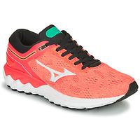 Pantofi Femei Trail și running Mizuno WAVE SKY RISE Corai