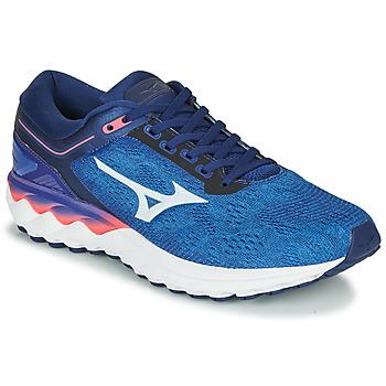 Pantofi Bărbați Trail și running Mizuno WAVE SKY RISE Albastru