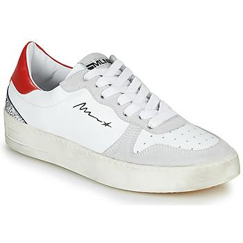 Pantofi Femei Pantofi sport Casual Meline STRA5007 Alb / Roșu