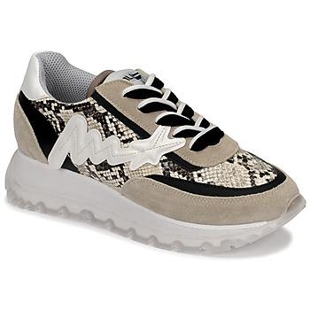 Pantofi Femei Pantofi sport stil gheata Meline TRO1700 Bej / Piton