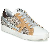 Pantofi Femei Pantofi sport Casual Meline IN1344 Alb / Bej / Auriu
