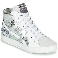 Pantofi Femei Pantofi sport stil gheata Meline IN1363 Alb / Argintiu