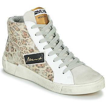 Pantofi Femei Pantofi sport stil gheata Meline NK5050 Bej / Leopard