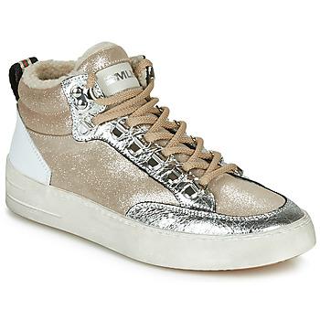 Pantofi Femei Pantofi sport stil gheata Meline STRA5056 Bej / Auriu