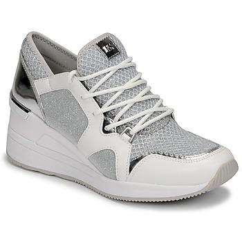 Pantofi Femei Pantofi sport Casual MICHAEL Michael Kors LIV TRAINER Alb / Argintiu