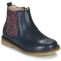 Pantofi Fete Ghete Acebo's 5274-MARINO-J Albastru