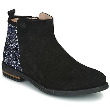 Pantofi Fete Ghete Acebo's 8035-NEGRO-T Negru