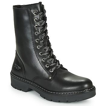 Pantofi Fete Ghete Bullboxer AON523E6L-BKGY Negru