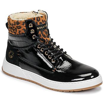 Pantofi Fete Pantofi sport stil gheata Bullboxer AOF503E6L-BLCK Negru