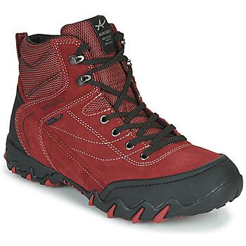 Pantofi Femei Drumetie și trekking Allrounder by Mephisto NIGATA-TEX Roșu