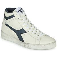 Pantofi Pantofi sport stil gheata Diadora GAME L HIGH WAXED Alb / Albastru