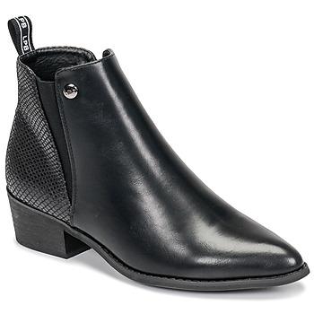 Pantofi Femei Ghete Les Petites Bombes ANTONELLA Negru