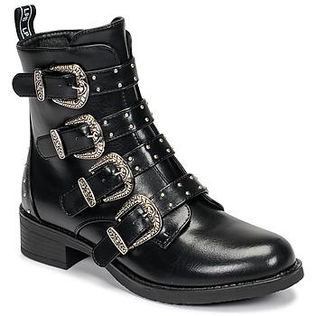 Pantofi Femei Ghete Les Petites Bombes QUADRI Negru