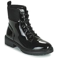 Pantofi Femei Ghete Les Petites Bombes AMBELLINE Negru
