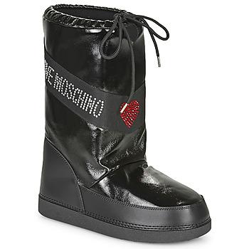Pantofi Femei Cizme de zapadă Love Moschino JA24022G1B Negru