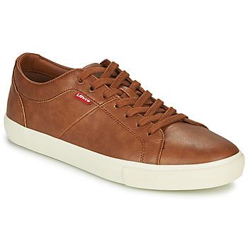 Pantofi Bărbați Pantofi sport Casual Levi's WOODWARD Maro