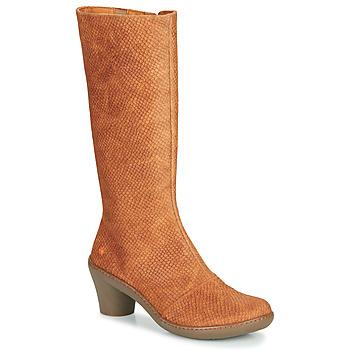Pantofi Femei Cizme casual Art ALFAMA Maro